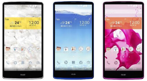 """LG breaks the 500ppi barrier with the Isai FL: the first brand-name phone with a 5.5"""" Quad HD display hints about the G3"""