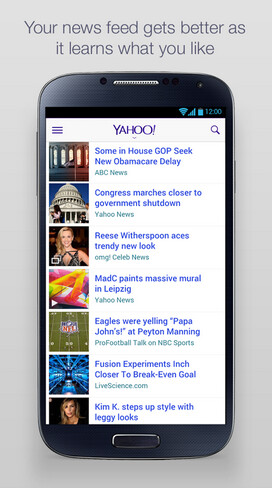 Yahoo News Digest is now available for Android devices - Not a news junkie but want to sound like one? Yahoo News Digest is now available for Android devices