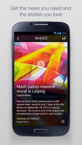 Yahoo News Digest is now available for Android devices