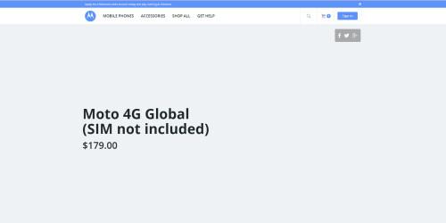 Moto 4G Global