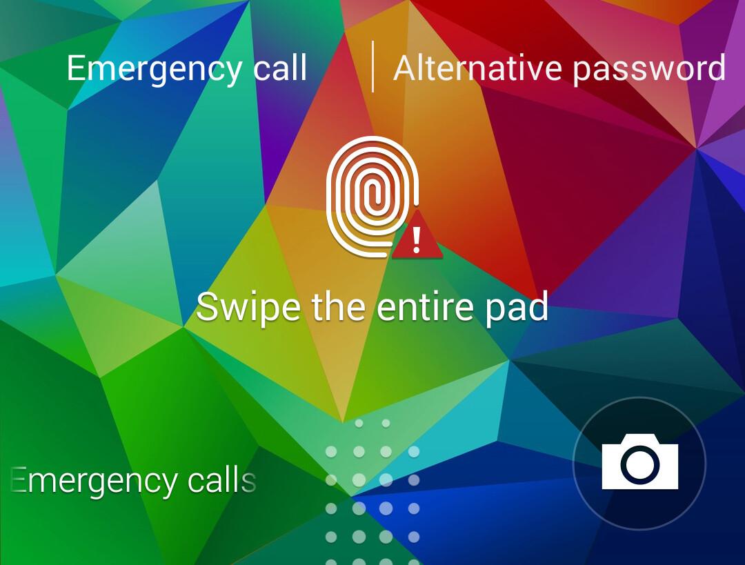 Fingerprint scanner: will it ever register your fingerprint from the first time?