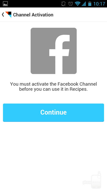 You must activate Channels before you can start using them