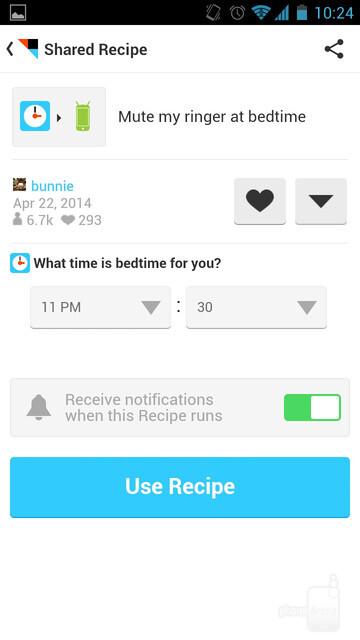You may use the ready-made recipes you like