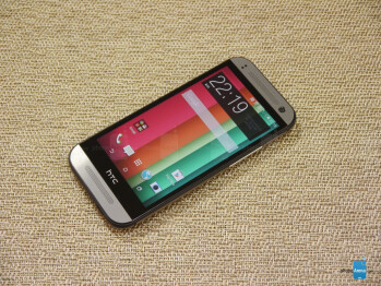 It looks almost identical to the HTC One M8, but there are noticeable differences besides the size.