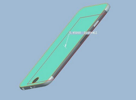 3D schematics for the Apple iPhone 6