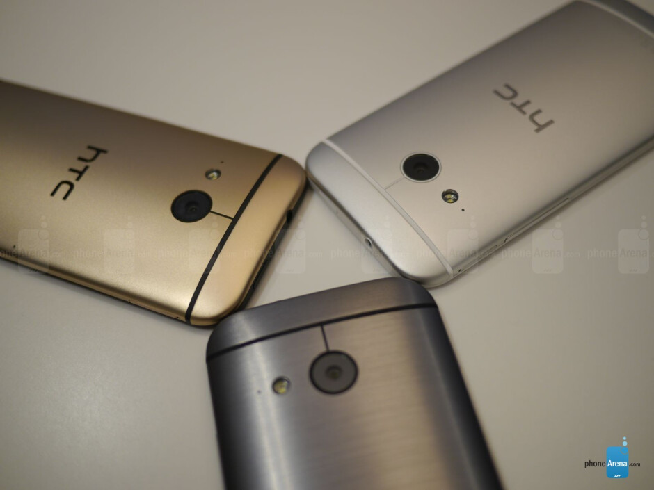 You heard right folks, there's a 13-megaixel rear camera. - HTC One mini 2 hands-on