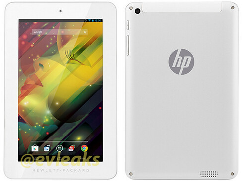 Check out the thick bezels on this press shot of HP's new tablet design tweeted by evleaks - Leaked press photo of HP's new tablet design shows off thick bezels