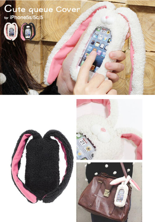 Bunny Shaped Queue Case for iPhone 5s / 5c / 5