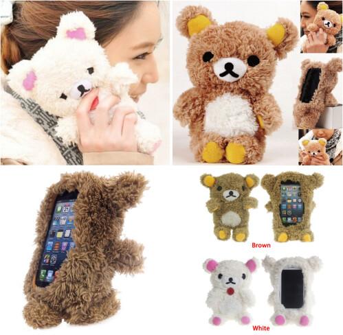 Teddy Bear case for iPhone 5S / 5 / 5C / 4s