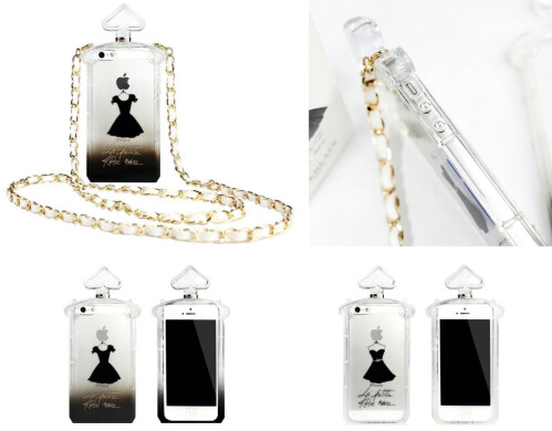 Perfume Bottle TPU Case for iPhone 5S / 5