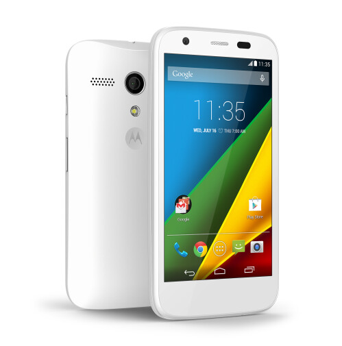 Moto G with memory card slot and 4G LTE radio is unveiled, starting at $219