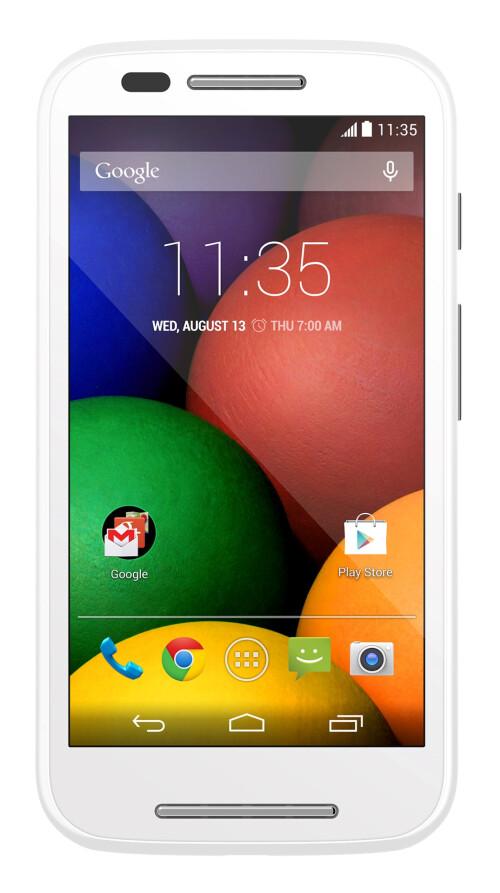 Motorola Moto E goes official with a killer price