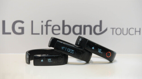 LG's Lifeband Touch and Heart Rate Earphones wearables release date in the US is May 18th