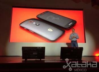 Here's the Motorola Moto G Ferrari Edition, Kevlar back included