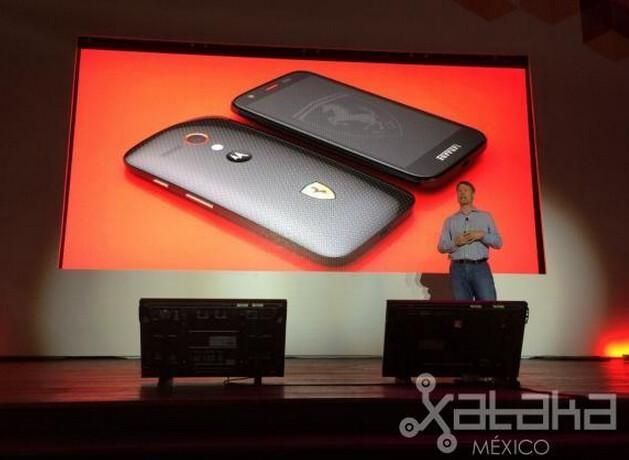 Here's the Motorola Moto G Ferrari Edition, Kevlar back included