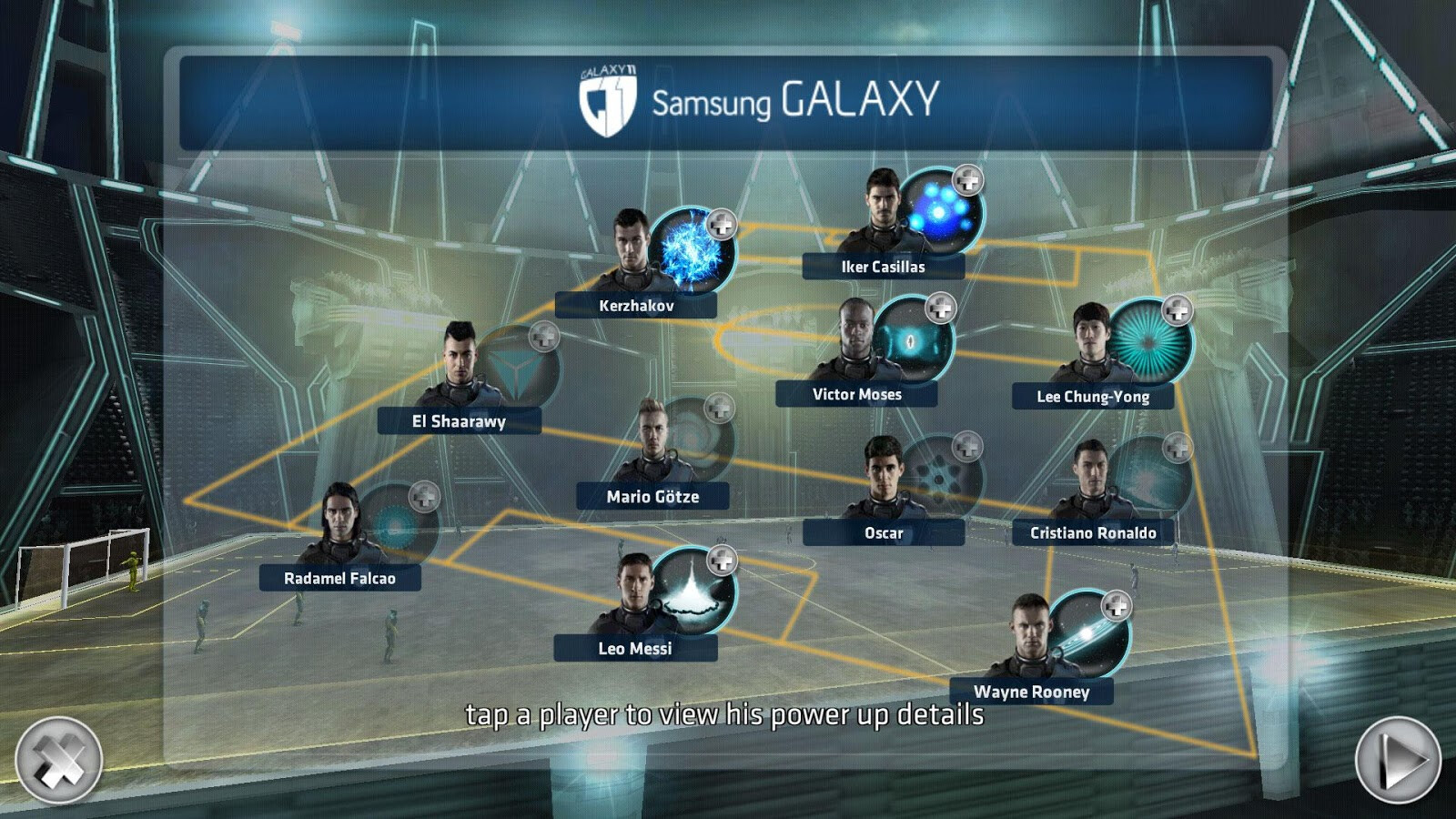 Galaxy 11: The Samsung Galaxy S5 and soccer, okay ...