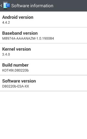 Update brings Knock Code to the international LG G2
