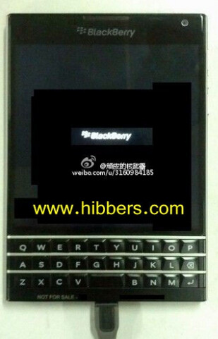 Picture alleged to be that of the BlackBerry Q30 - BlackBerry announces SDK for 10.3, tips a square-screened 4.5 inch device