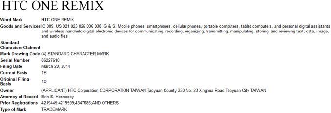 New HTC One Remix headed to Verizon?