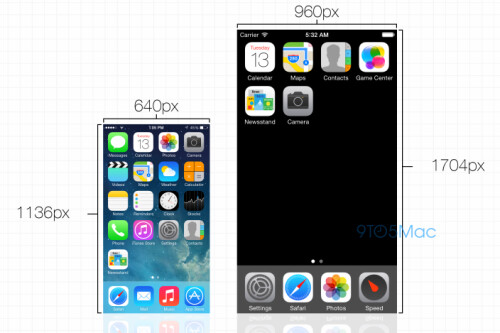 Apple iPhone 6 resolution details surface