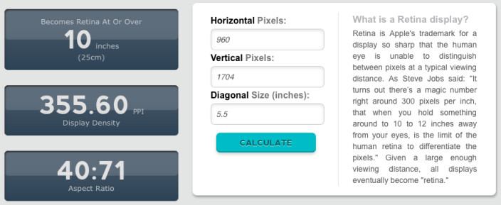 iPhone 6 models pixel density - Apple iPhone 6 said to have 960 x 1704-pixel resolution, Apple A8 chip details unveiled