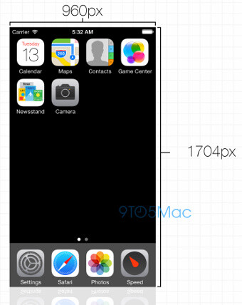 The iPhone 6 could have a higher resolution - Apple iPhone 6 said to have 960 x 1704-pixel resolution, Apple A8 chip details unveiled