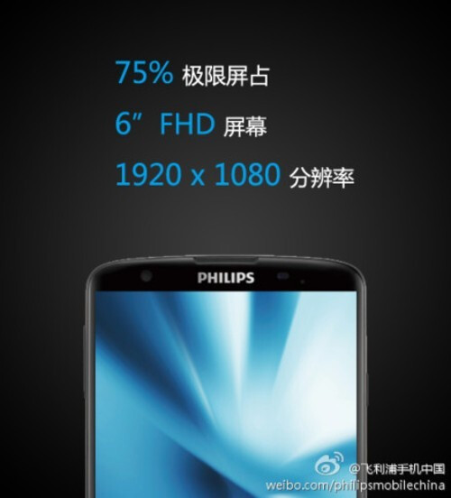 The Philips l928 shows its eight-core head on Weibo