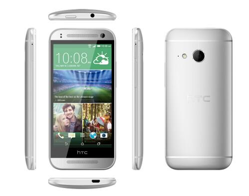 HTC One mini 2 sports a premium aluminum chassis