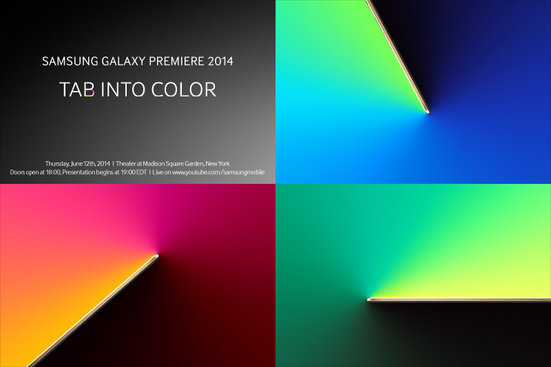 Samsung announces Galaxy Premiere 2014 event for June 12, new AMOLED tablets expected