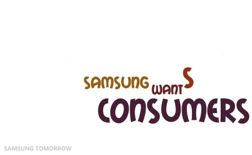 Well, it's not just Samsung, but every company out there.