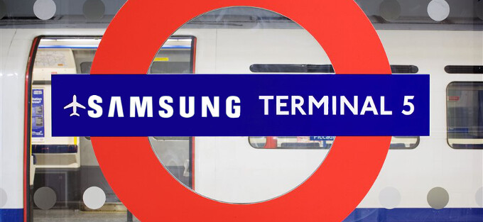Samsung to name Heathrow's Terminal 5 after the Galaxy S5 for a fortnight