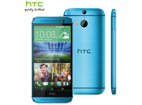 Red and blue HTC One M8 now available to pre-order (only in Europe though)