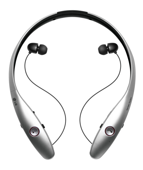 LG Tone Infinim Bluetooth headphones with Harman/Kardon audio tech
