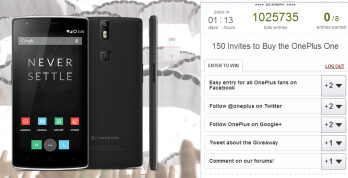 150 OnePlus One invites can be won today and tomorrow