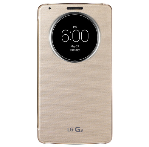 LG G3 QuickCircle Case officially announced, will bring Smart Lighting to the smartphone