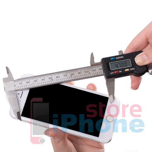 New alleged iPhone 6 dummy is snapped from all angles, measured against the iPhone 5s