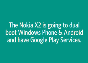Anonymous post on Secret outs possible dual boot feature for Nokia X2