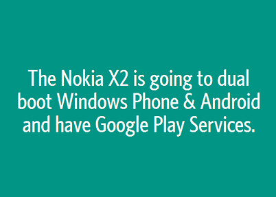 Anonymous post on Secret outs possible dual boot feature for Nokia X2 - Do you want to know a secret? Nokia X2 could dual boot Windows Phone and Android