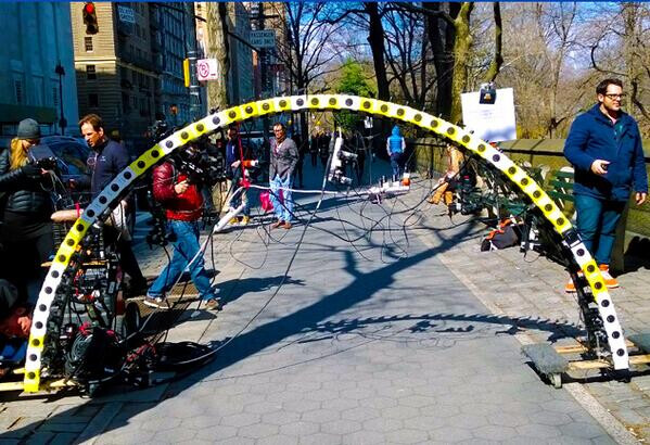 The Lumia Arc of Wonder, made from 50 1020s - Watch 50 Lumia 1020s form the Lumia Arc of Wonder to shoot this impressive bullet-effect video