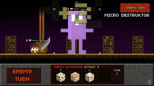 Tiny Dice Dungeon screenshots