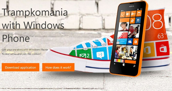 Plus subscribers can win a pair of Windows Phone sneakers - Polish carrier giving away Windows Phone sneakers as a contest prize