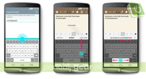 The new virtual QWERTY is customizable