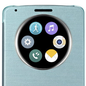 LG's QuickCircle case is sold separately. - LG G3 has arrived: here's all you need to know
