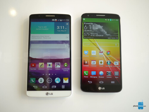 LG G3 vs LG G2: first look