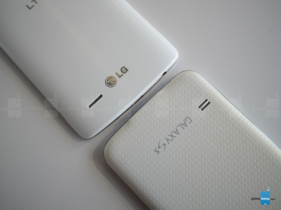 LG G3 vs Samsung Galaxy S5: first look