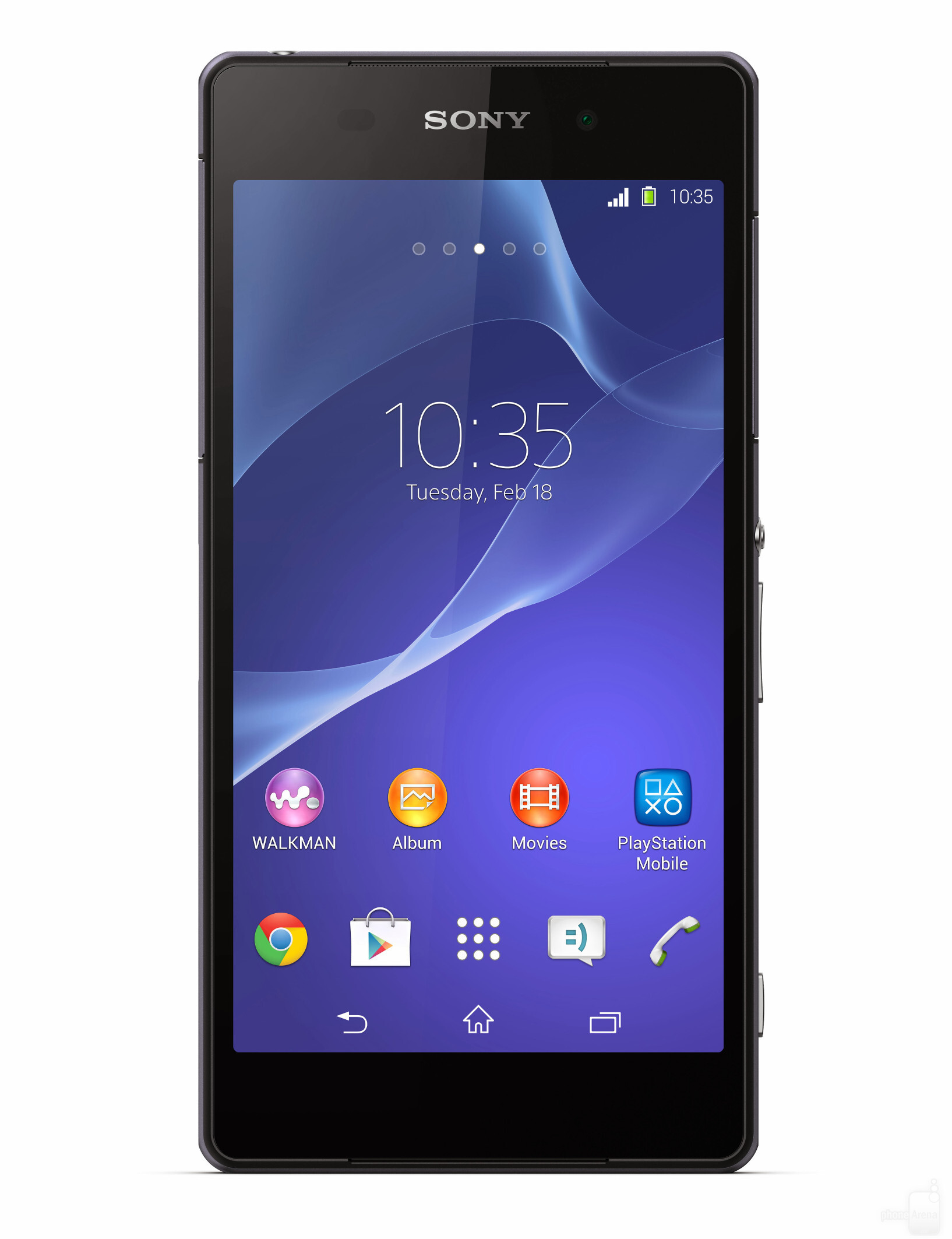 Sony Pictures Warning Sony Xperia Z