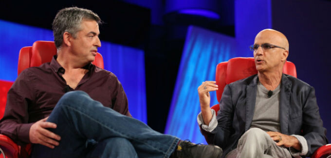 Beats co-founder Jimmy Iovine says Apple headphones are crap while sitting next to Apple's Eddy Cue