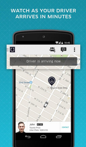 how to get a phone from uber