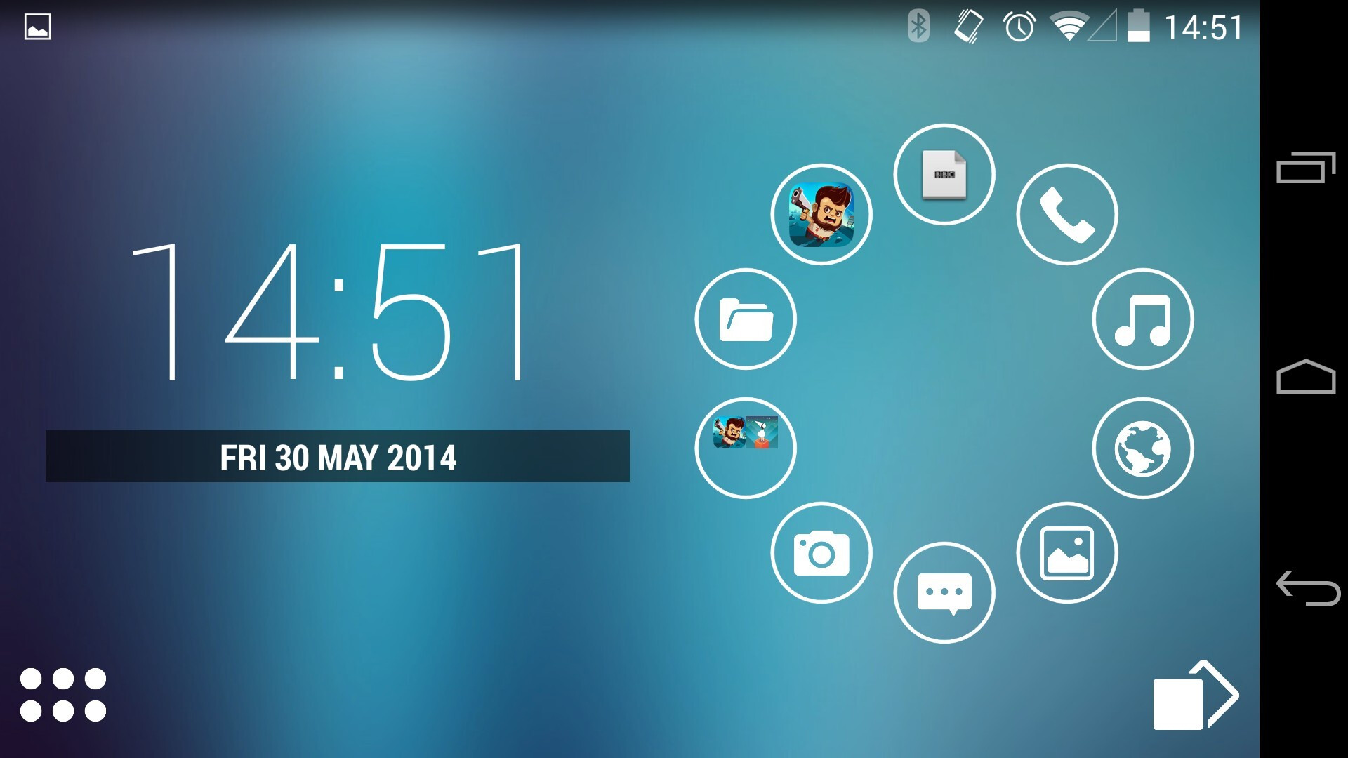 Smart launcher pro 2 review clean energy for Wallpaper home launcher