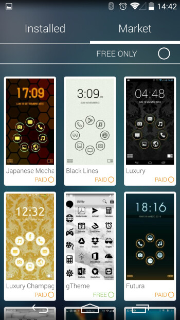 A smorgasbord of themes and icon packs